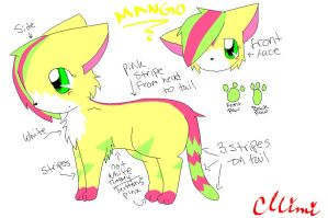 Mango new ref by MimiTheFox