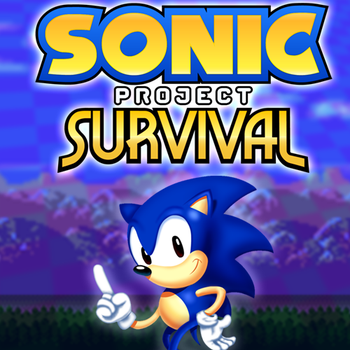 Sonic: Project Survival SAGE 2016 Banner by Sonicxhero4