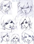 Female Face Compilation 1 by LorBot