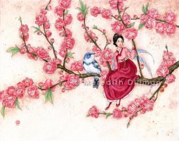 Peach Blossom by MeredithDillman