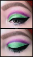 Green and Purple by MakeupAndMages