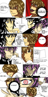 Death Note vs. Code Geass: by Carmabellagal