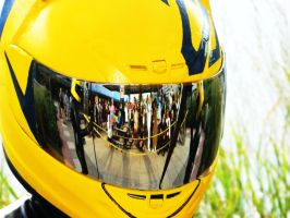 Celty's Helmet by 9tailedfoxgirl