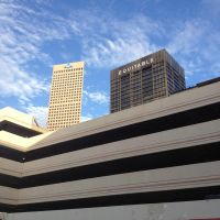 Parking Deck Dominates Downtown Atlanta by wiebkefesch
