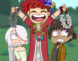 Flower Crowns for everyone! by ludmilabb2