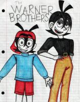 Warner Brothers -by Tragedyann by Yakko-fanclub