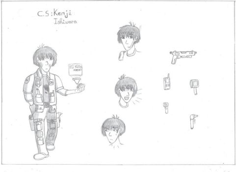 Character Sheet : Kenji Ishiwara by Troll-killers
