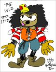 SONIC Jackson as the scarecrow from the WIZ by reg92