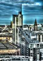 Manchester Buildings HDR by NickField