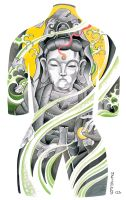 Tattoo Body Suit Poster 005 by azmousejockey