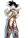 Goku pencil 2 by YK-DGB
