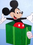 Merry Christmas from Mickey by divinespectrum