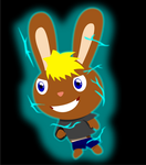 Super bunny by Wopter