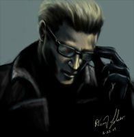 Albert Wesker by Blue-Vixen