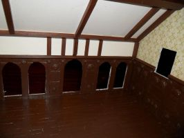 Gothic-ish Dollhouse 1:24 WIP 4 by kayanah