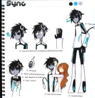 Character reference: Sync by Zack-Of-Spades