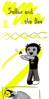 Sollux and the Bee by Reina-of-Sand