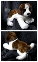 Douglas Medium Floppy Dogs - Otis St. Bernard by The-Toy-Chest