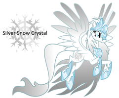 Silver Snow Crystal by EvilFrenzy