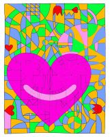 Valentine Colouring Contest by sarahhope