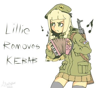 Lillie removes kebab by atomkraftwerk