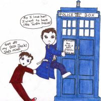 The Doctor And Jack by LostRain13
