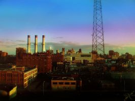 Darkness falls in Detroit by queenhli