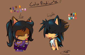 ::Color Practice:: 01 by Knightz22