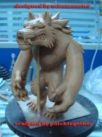 Werewolf toy WIP by missmonster