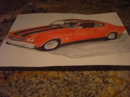 my father day's gift a 1977 chevy chevlle ss by Stormdeathstar9