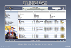 iTunes Gant oCeAn by Behelit
