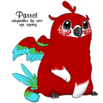 Red and Green Macaw by rice-chex