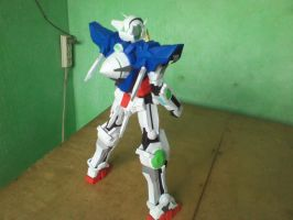 Papercraft Gundam Exia: Back Side by MarcGo26