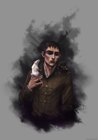 The Outsider by purmu