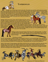 Old World Taishogun Breedsheet by DragonPud