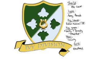 Ivy Division Band Crest-rough by Kaibu