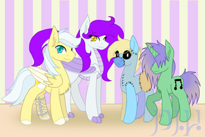 The Gang by KittyDragon619