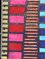 Colored Bars by QueenieNirvana