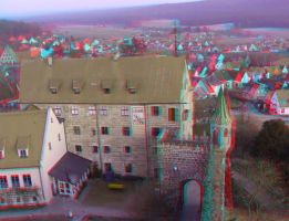 Abenberg 26 3D Anaglyph by yellowishhaze