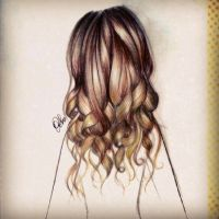 Curly Hair by DebbyArts