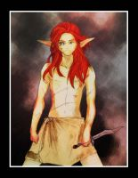 Gift - Young Azriel by DominicFrost