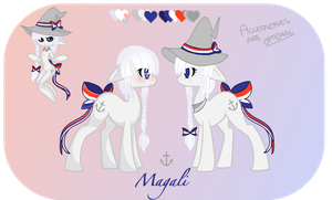 Magali -- Reference Sheet by acervine
