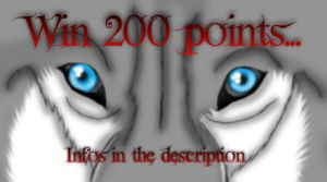 Win 200 points/gagnez 200 points by Metalwolf13