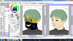 [BTS x Tokyo Ghoul] Min Yoongi as a Ghoul by xAkitaRosex