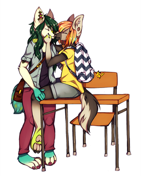 After classes by ne0nbunny