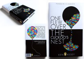 One Flew Over the Cuckoo's Nest - cover redesign by ChloeMorris