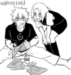 NaruSakuWeek . Working Hard by starchiishio