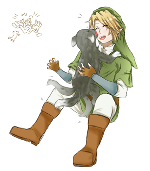 Puppy attack by DeviCaity