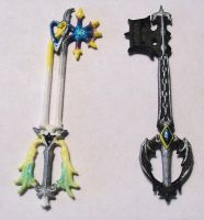 Keyblades Color Wsf by silverbeam