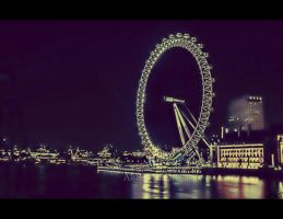 London Wheel - Revisited by ahmedwkhan